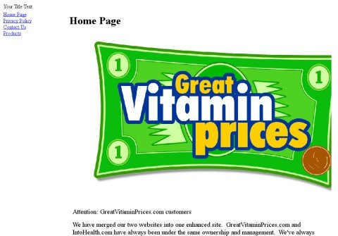 greatvitaminprices.com thumbnail