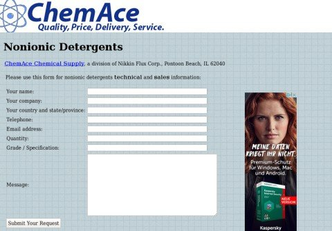 nonionicdetergents.com thumbnail