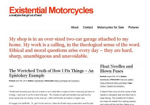 existentialmotorcycles.com thumbnail