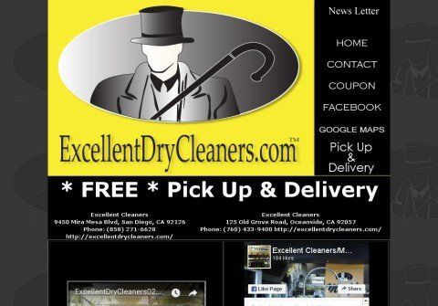 excellentdrycleaners.com thumbnail