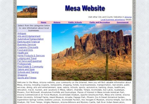 mesa-website.com thumbnail