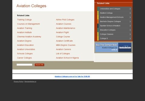 aviation-colleges.com thumbnail