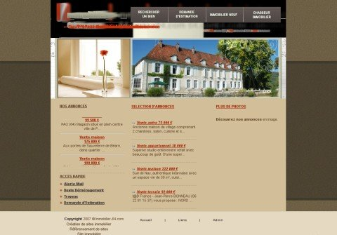immobilier-64.com thumbnail