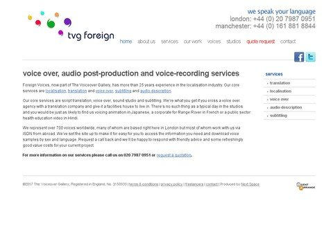 foreignvoices.com thumbnail