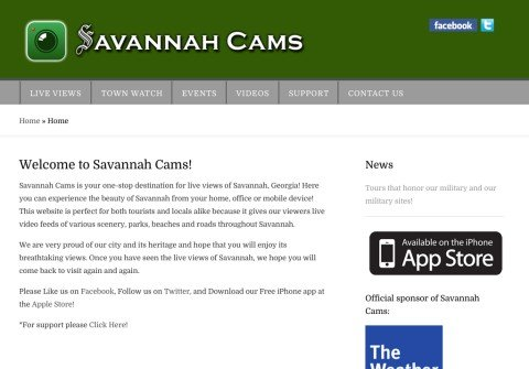 savannahcams.com thumbnail