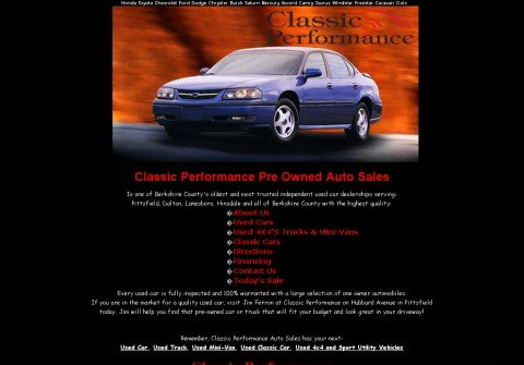 classicperformance.com thumbnail