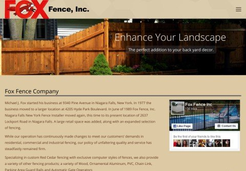 foxfence.com thumbnail