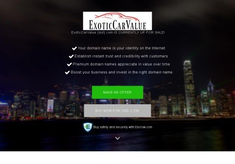 exoticcarvalue.com thumbnail