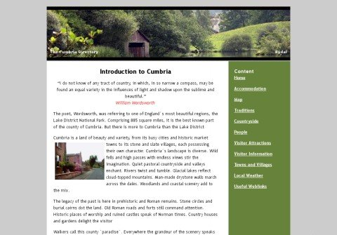 thecumbriadirectory.com thumbnail