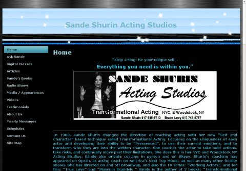 sandeshurinactingstudio.com thumbnail