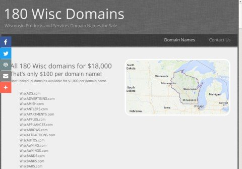 wiscfreight.com thumbnail