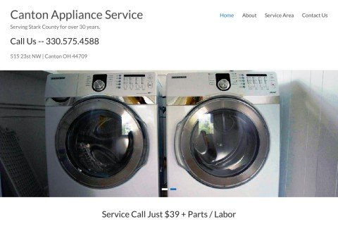 cantonapplianceservice.com thumbnail