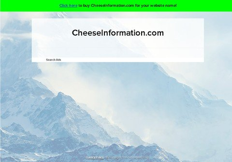 cheeseinformation.com thumbnail