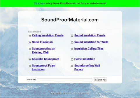 soundproofmaterial.com thumbnail