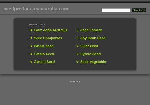 seedproductionaustralia.com thumbnail