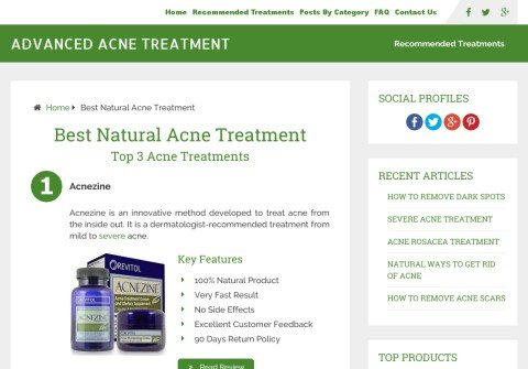 advancedacnetreatment.com thumbnail