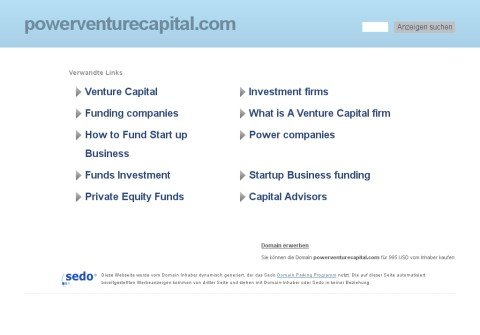 powerventurecapital.com thumbnail