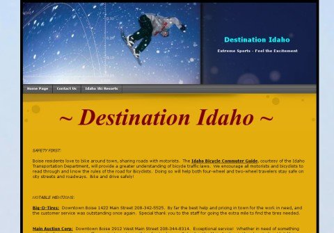 destinationidaho.com thumbnail