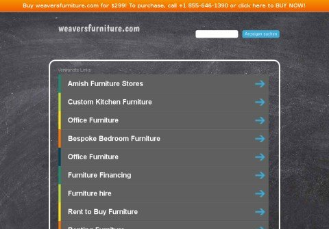 weaversfurniture.com thumbnail