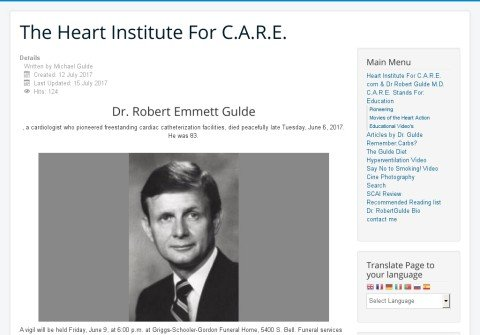 heartinstituteforcare.com thumbnail