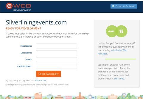 silverliningevents.com thumbnail