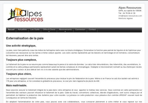 alpes-ressources.com thumbnail