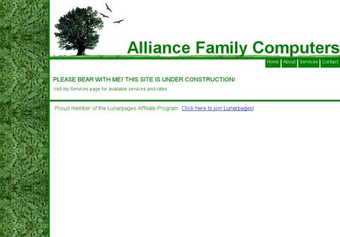 alliancefamilycomputers.com thumbnail