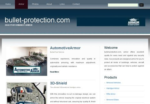 bullet-protection.com thumbnail