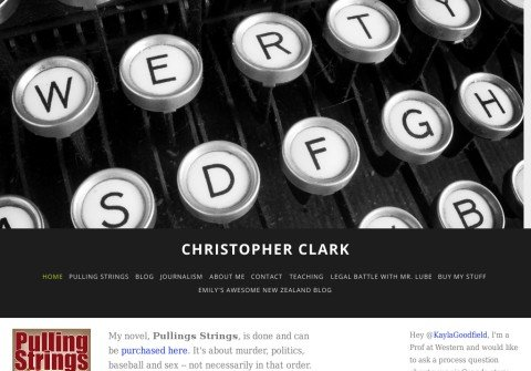 christopherclarkwriter.com thumbnail