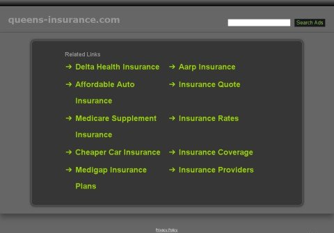 queens-insurance.com thumbnail