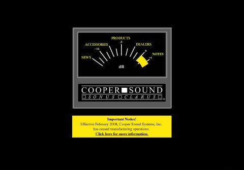 coopersound.com thumbnail
