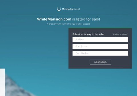 whitemansion.com thumbnail