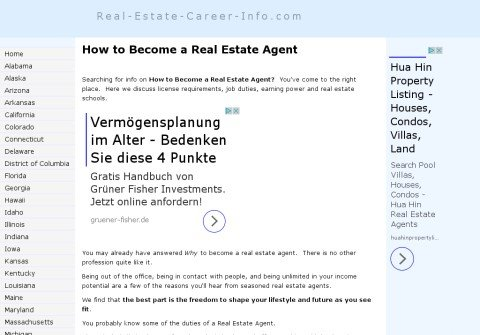 real-estate-career-info.com thumbnail