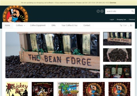 thebeanforge.com thumbnail
