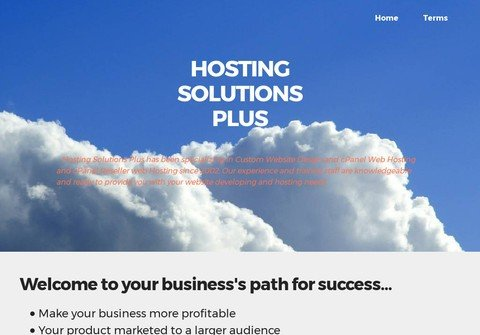 hostingsolutionsplus.com thumbnail