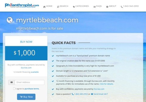 myrtlebbeach.com thumbnail