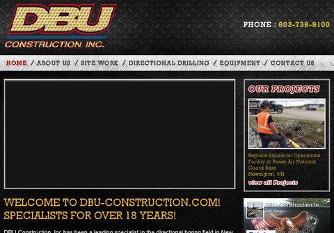 dbu-construction.com thumbnail