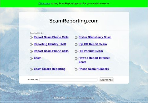 scamreporting.com thumbnail