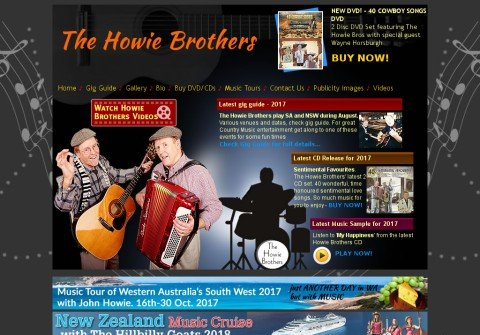 howiebrothers.com thumbnail
