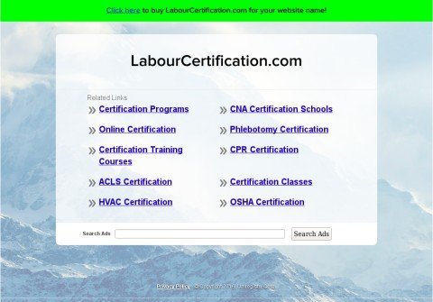 labourcertification.com thumbnail