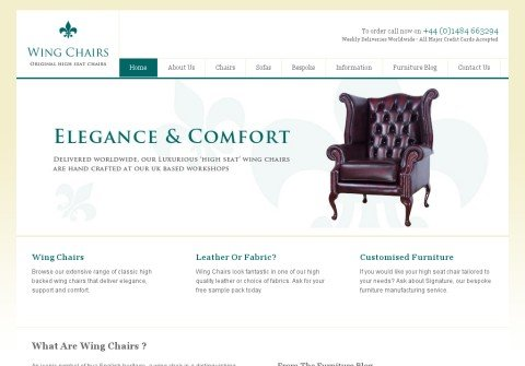 wing-chairs.com thumbnail