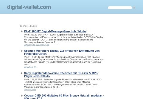 digital-wallet.com thumbnail