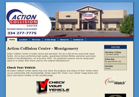 actioncollisioncenter.com thumbnail