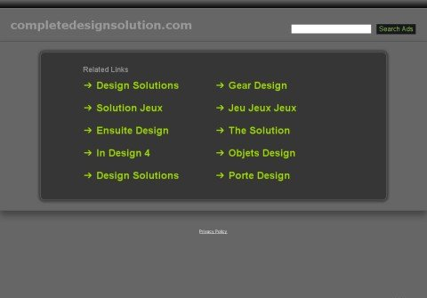 completedesignsolution.com thumbnail