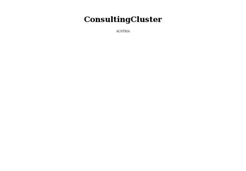 consultingcluster.net thumbnail