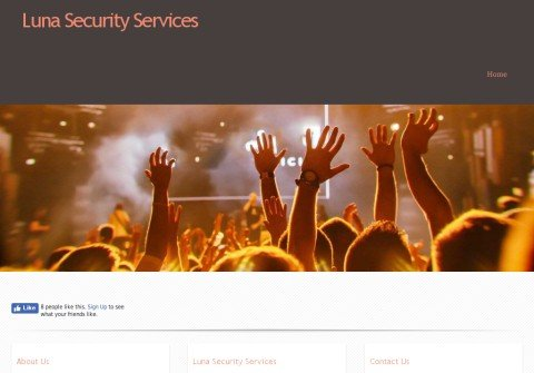 lunasecurityservices.com thumbnail