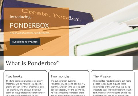 theponderbox.com thumbnail