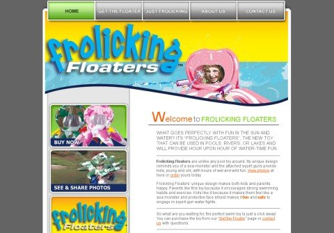 frolickingfloaters.com thumbnail