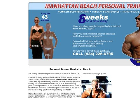 manhattanbeachpersonaltrainer.net thumbnail