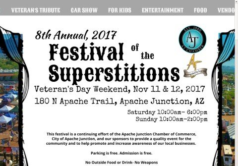 festivalofthesuperstitions.com thumbnail